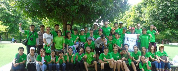 Keep Hanoi Clean - Cau Giay Park